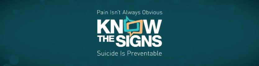 Suicide Prevention Banner